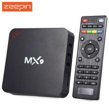 MX9 TV Box Android 4.4 RK3229 Quad-core 1G 8G TV Box 2.4G WiFi TV Online Player with Infrared Remote Control Set-top Box EU US(China)