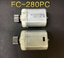 2X FC-280PC 12V dc motor for Auto electric machine/Electric folding rearview mirror/car door lock/Steering Angle limit