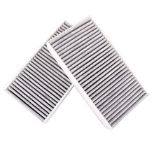 2x Carbon Cabin Air Filter Fits For Benz ML63 ML350 R63 R320 GL450 G550 S350 1648300218 A1648300218 A164830021864