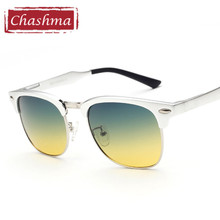 Chashma Brand Top Quality Day Time and Night Driving Glasses Yellow and Green Lenses Driving Anti Glare Sunglasses Polarized(China)
