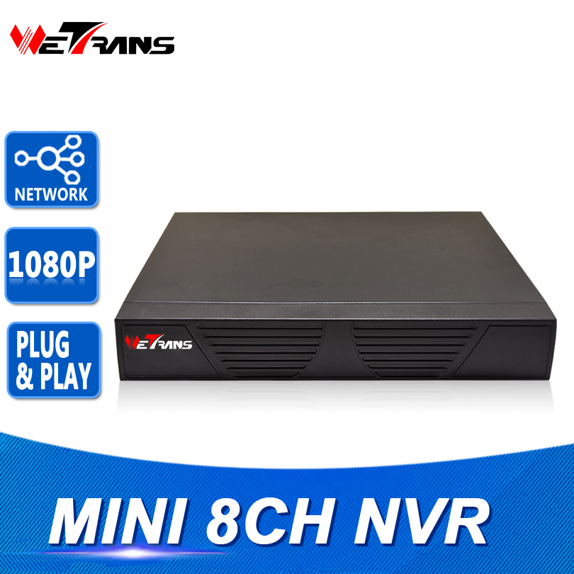 Mini NVR IP 8CH 1080P Onvif Plug and Play HDMI Output Network Video Recorder 8 Channel 1080P Network Surveillance Video Recorder<br>