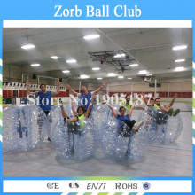Free Shipping 5PCS 1.5m Size 1.0mm TPU Bubble Soccer Ball Giant Human Football Bubble Soccer