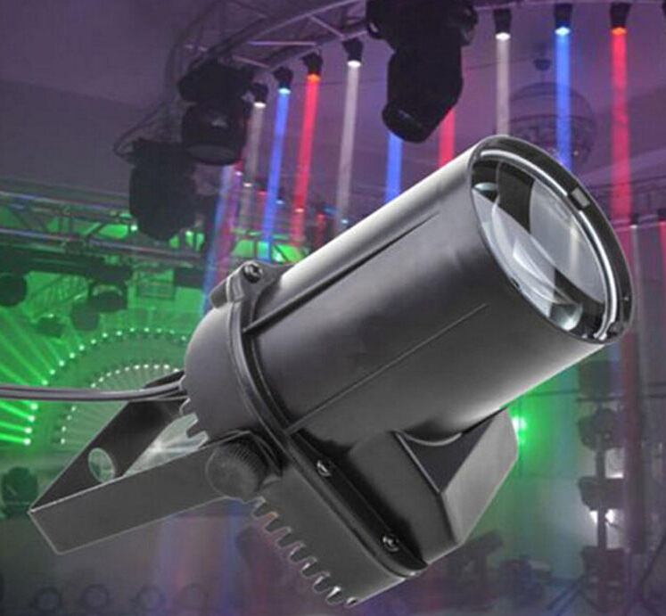 Hot Sale Rasha 9W RGB 3in1 LED Pinspot Light,LED Rain Effect Light For Disco Party,KTV,Stage Light,LED Rain Effect Light<br><br>Aliexpress