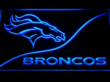 b502 Denver Broncos LED Neon Sign with On/Off Switch 20+ Colors 5 Sizes to choose(China)
