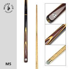 Thailand Import Master Snooker Cue, Model M5, Cue Length 145cm, Cue Tip 9.5mm, Ash Wood Shatf, Handmade 3/4 Billiard Cue