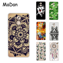 "Cool Design Cover For Huawei Honor 6C Case 5.0"" Colorful Pattern Soft Silicone TPU Cover Cases For Honor6C Phone Cases Fundas"