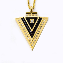 Wholesale High Negative ion Magnet Germnaium Pendant Health Necklace Ion Scalar Energy Pendant(China)