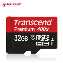 Original SDXC 60MB/s Transcend Micro SD Card SDHC Class10 UHS-I UHS-1 400X Memory Card Micro SD TF Card Class 10 16GB 32GB 64GB