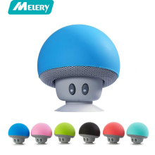 Melery Cartoon Mushroom Wireless Bluetooth speaker waterproof sucker mini bluetooth audio outdoor Stereo Music Speaker For Phone(China)