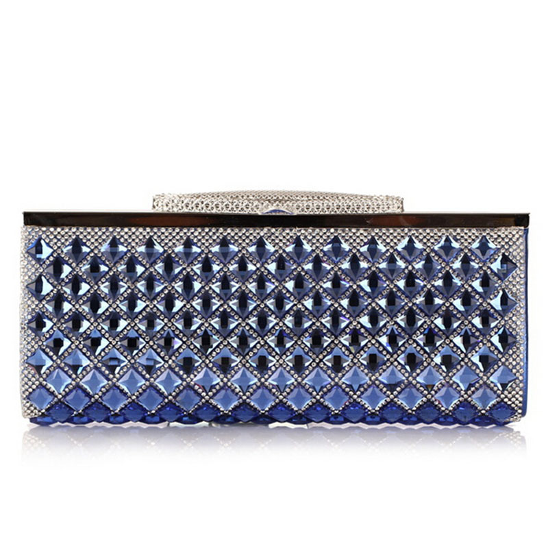 Hot Ladies Crystal Rhinestone Clutch Women Pearl Evening Bag Bridal Purse Dinner Party Chain Handbag BAG bolsas mujer XA1215C<br><br>Aliexpress