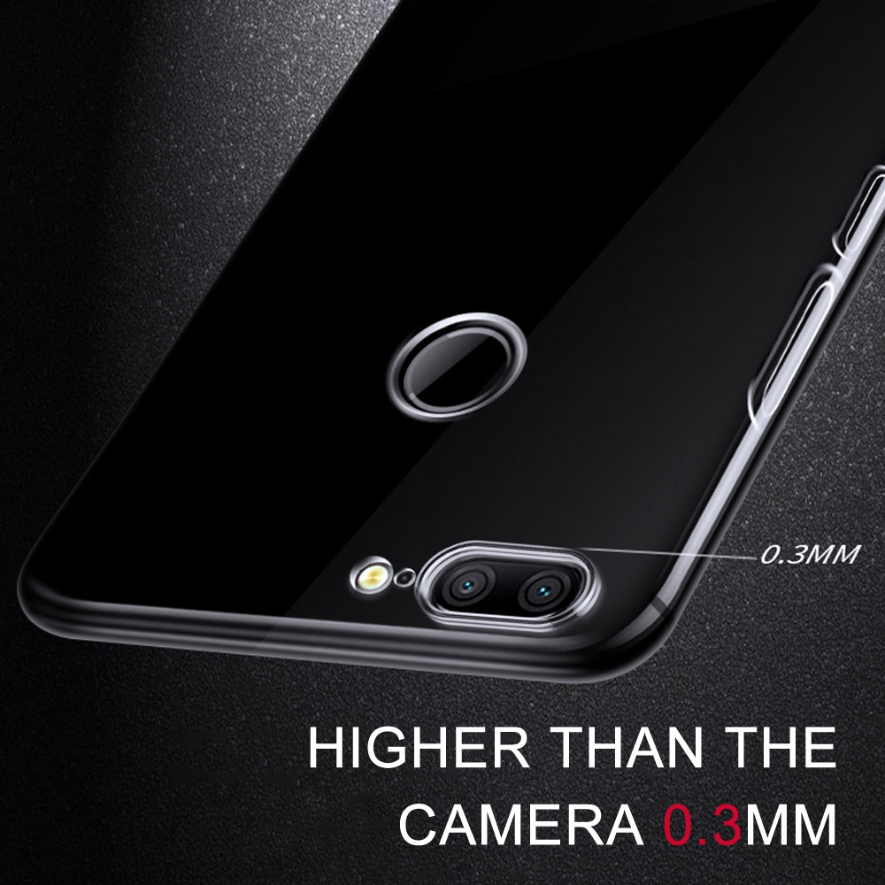 Soft-Case-For-Huawei-Honor-9-Lite-Case-TPU-Silicon-Transparent-Fitted-Clear-Bumper-Back-Cover
