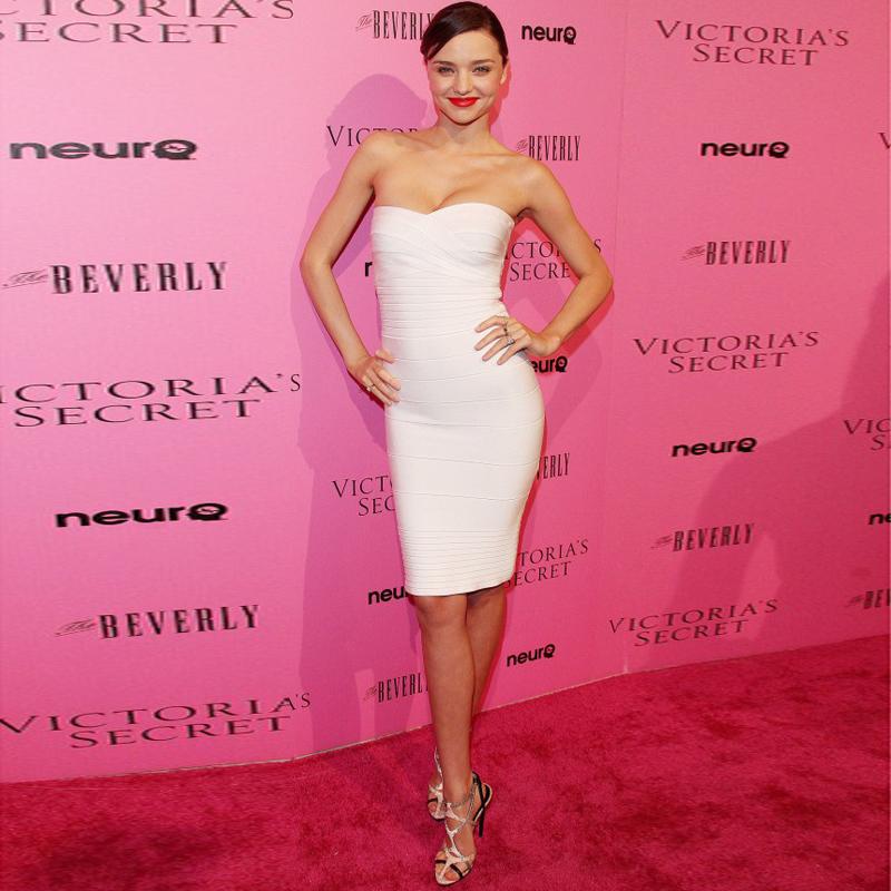 miranda-kerr-tight-dress-white-dress-bandage-dress-1