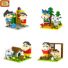 LOZ Classic Japanese Anime DIY Diamond Building Blocks Mini Qute Educational New Year's Toys Gifts Children GirlFriend Kids - Time Machine Co.,Ltd store