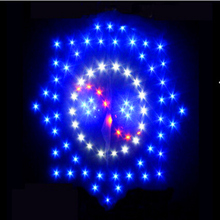 free shipping high quality 3sq.m led kite line ripstop nylon fabric big kite flying outdoor toys for fun stunt kite factory surf