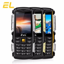 E&L S600 Mobile Phone 2G GSM Big Flashlight Bluetooth Dual Sim Original Mini Key Cell Phone Waterproof Shockproof IP68 Phones(China)