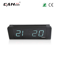 "[Ganxin]1"" High Quality Customized Factory Supply Led Digital Wall Clock Multifunctional with Long Warranty"