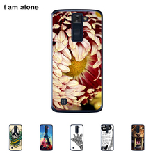 For LG K10 K420N K430DS 5.3 inch Cellphone Cover Mobile Phone Protective Skin Color Paint Bag Shipping Free