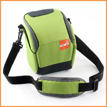 Green Digital Camera Bag Case For Samsung NX3000 NX2000 NX1000 NX1100 GC200 GC100 WB35F NX mini 9-27mm 20-50mm Len