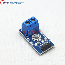 50pcs Voltage Sensor for Arduino DC For Raspberry Pi Amplifier Digital Current DC 0-25V with Code FZ0430 Free shipping