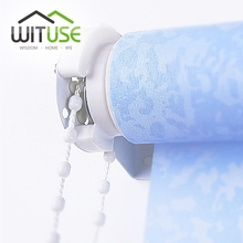 WITUSE Roller Blind Shade Cluth Bracket Bead Chain 28mm Kit Brand new and high quality Shade Repair Fixing Parts/Roller Blind(China)
