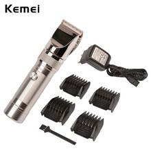 2016 Professional and Fashion Electric Hair Cutter Adult and Children Hair Trimmer Haircut Styling Tools for Men Ceramic Blade(China)