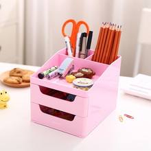 desk pencil holder organizer desktop stationery box drawer office Desk Accessories Organizer pensil holder pen holders for desk