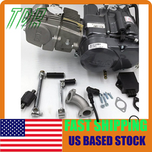 Stock in usa ! only 3pcs left ! 150cc LIFAN Engine Motor kick start PIT QUAD DIRT ATV  Scooter Engine