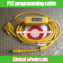 1pcs compatible S7-200 CPU221 222 224 226 PLC programming cable / programming data download cable USB-PPI USB to RS485(China)