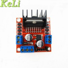 Special promotions 2pcs/lot L298N motor driver board module stepper motor smart car robot(China)