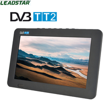 Leadstar 2017 New HDTV 9 Inch Digital Television Analog TV And TF Card And USB Audio And Video Playback Portable DVB-T2 AND AC3