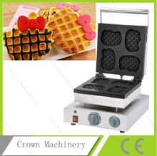 Electric commercial Hello kitty shaped Waffle machine