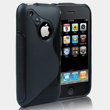 For Apple iPhone 3 3G 3GS New High Quality Multi Color S line Flexible Soft Gel Tpu Silicone Skin Slim Back Case Cover