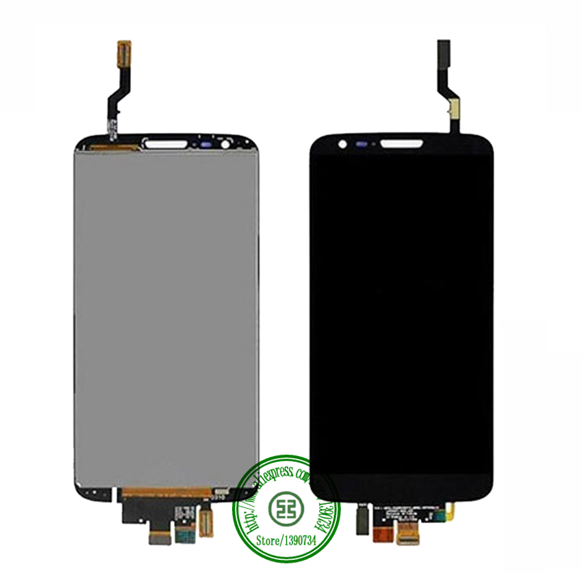 100% Warranty Working Black Full LCD Digitizer Touch Screen Assembly For LG Optimus G2 D802 Replacement Free shipping<br><br>Aliexpress