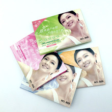 Масло для лица blotting paper Face absorbing Oil sheet oil control film Face Clear and Clean 50 шт./пакет(China)