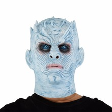 The Night King Masks Game Of Thrones Scary Movie Cosplay Halloween Costume Props High Quality Toys Party Latex mask(China)