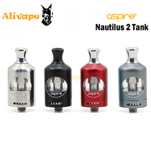 Aspire Nautilus 2 Tank Fit with Nautilus BVC Coil 0.7ohm 1.8ohm 23W bottom air flow adjuster Aspire vape for Box Mod