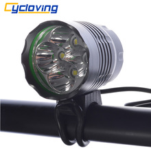 Cycloving 4T6 Bicycle headlamp headlight LED Bike light 5200 Lumen for outdoor cycling camping fishing