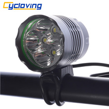 Cycloving LED Bicycle Light Bike headlight LED Bike light 5200 Lumen Aluminum waterproof Cycling accessories(China)