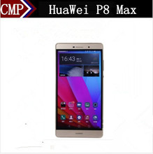 DHL Fast Delivery HuaWei P8 Max 4G FDD LTE Cell Phone Kirin 935 Android 5.0 6.8 Inch 1920X1080 3GB RAM 64GB ROM 13.0MP Free Case(China)