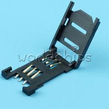 50PCS Clamshell SIM Card Socket For SIM900 GSM /GPRS Wireless Module For Arduino