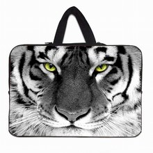 "Tiger Notebook Laptop Fashion Case Bag For Apple iPad 1st 2nd 3rd 4th 9.7"" Tablet 10.1 10.2 Inch Mini PC Waterproof Cases+Handle"