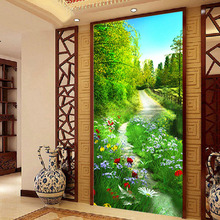 Country road 5D DIY Full Diamond Embroidery Painting Mosaics Cross Stitch Needlework Home wall Decor Resin Square Drill gift(China)