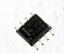 50PCS/LOT LM358DR LM358D LM358 SOP8 four comparator Current operational amplifier(China)