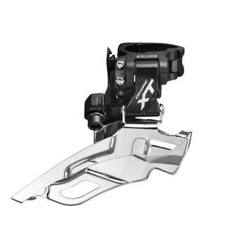 Desviador shimano deore xt m781 fd 3 s negro mtb pieza de la bicicleta