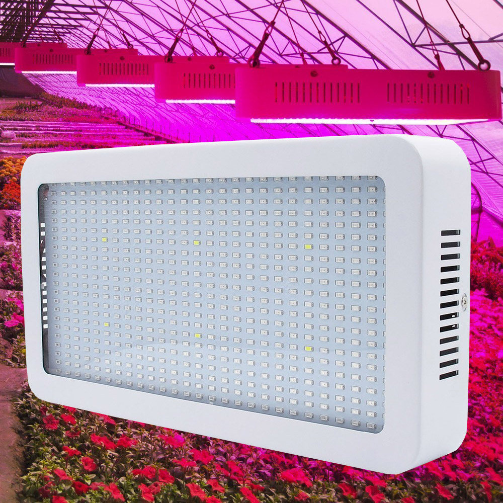 Full Spectrum 400 LEDs 400W 594 PCS 600W Grow Lights  Indoor Plant Lamp For Plants Vegs Hydroponics System Grow/Bloom Flowering<br><br>Aliexpress