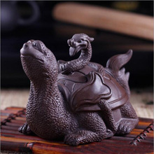 Boutique purple sand tea of a pet Basaltic spirit beast Yixing clay by hand The tea ceremony tea furnishing articles(China)