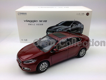 Red 1:18 FIAT Viaggio Sedan 2014 Diecast Model Car