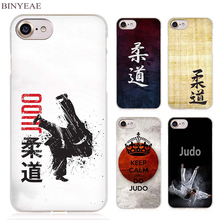 BINYEAE Judo Clear Cell Phone Case Cover for Apple iPhone 4 4s 5 5s SE 5c 6 6s 7 Plus(China)