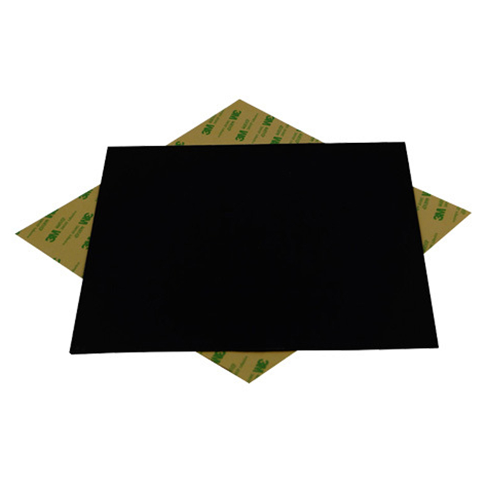 2pcs1208214mm220mm101216pei frosted black 3d pring 2pcs1208214mm220mm101216pei frosted black 3d pring build surface polyetherimide cold pei sheet 05mm thickness us623 fandeluxe Choice Image