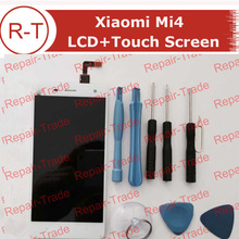 For Xiaomi 4 Mi4 Lcd Screen High Quality Lcd Display+Touch Panel With Free Tools For Xiaomi4 M4 MI4 Samrt Phone Free Shipping